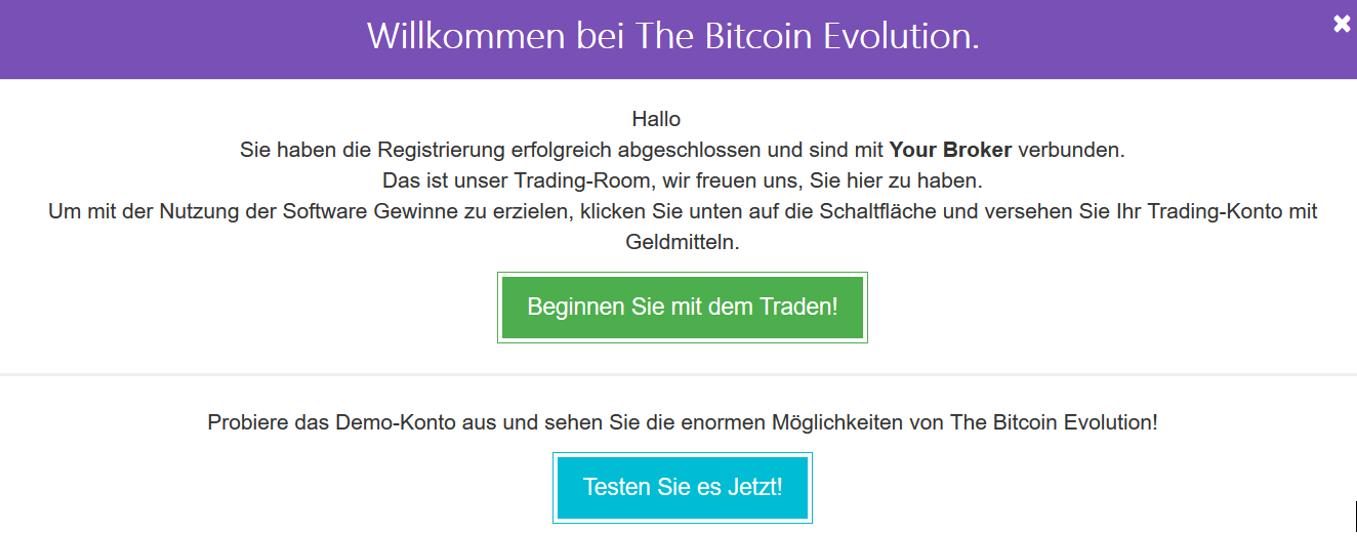 bitcoin trader demokonto