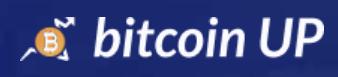 Bitcoin Up Logo