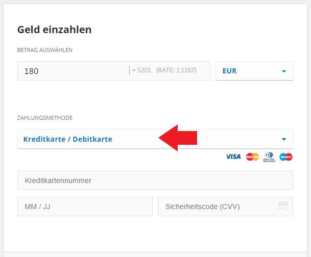Bitcoin mit Kreditkarte kaufen - eToro