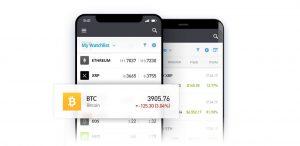 eToro mobile Plattform für Handy