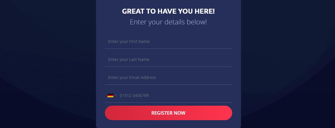 Anon System Registrierung