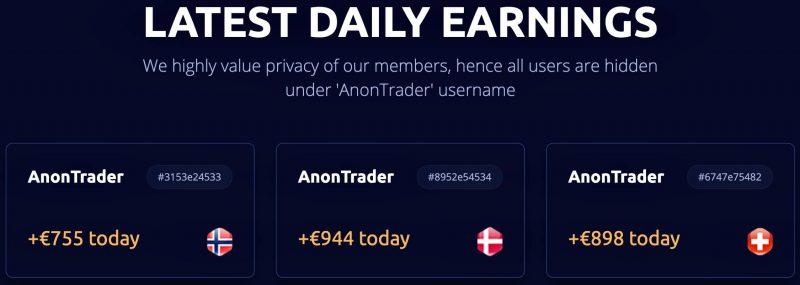 Anon System Erfahrungen - Tägliche Gewinne