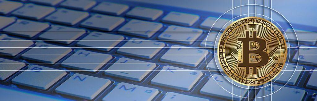 Bitcoin mit Tastatur