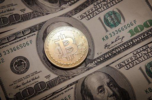 Bitcoin - Kryptowährung mit Dollar
