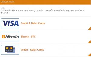 Bitcoin Power Einzahlung