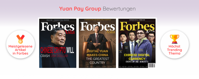 Yuan Pay Group in der Presse