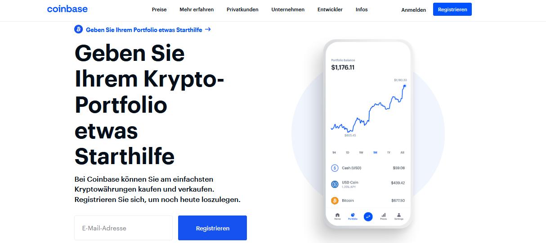 Coinbase Alternativen