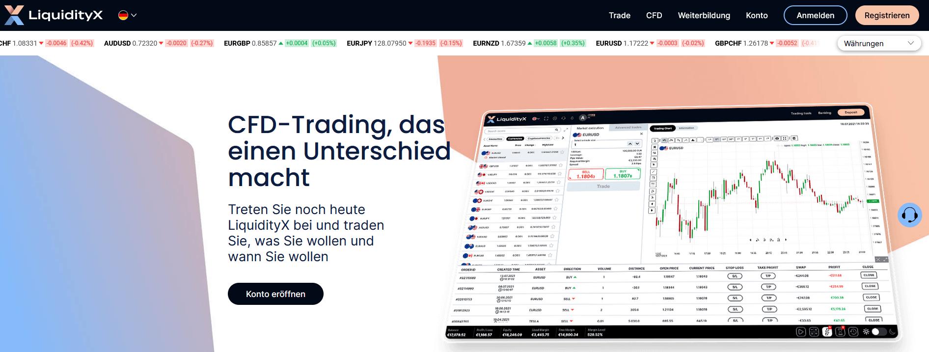 LiquidityX Test
