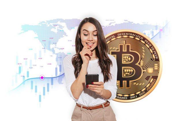 woman_bitcoin