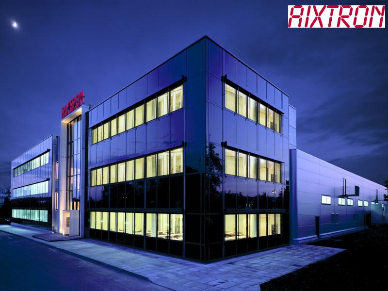 Führender Anbieter zukunftsweisender Technologie: Aixtron (Foto: Aixtron)