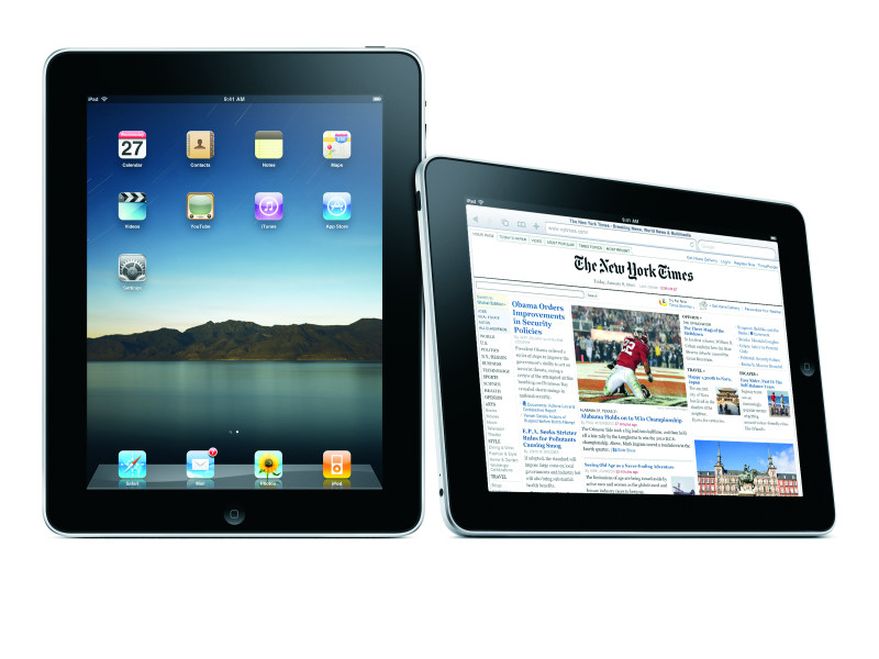 Kann das IPad den Ebook-Markt erorbern? (Foto: Courtesy of Apple)