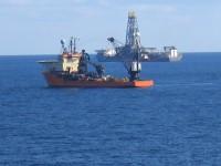 Bohrschiff in Aktion: Werden bei Sintezneftegaz bereits heute Förderungs-Vorbereitungen getroffen?