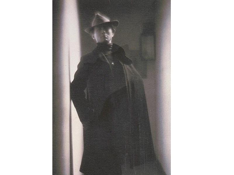 Fotokunst darf nicht hell gelagert werden: Portrait des Künstlers Edward Steichen von Fred Holland Day