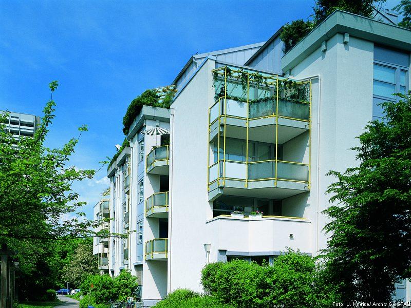 Kommt gut durch die Krise: Die Immobiliengesellschaft Gagfah
