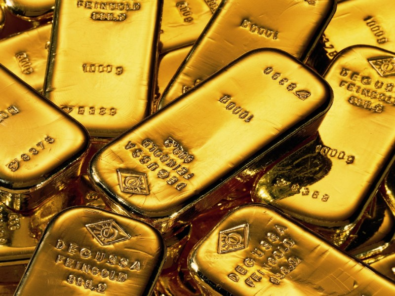 Unter Fondsmanagern derzeit Anlagethema Nummer eins: Gold (Bild: Deutsche Bank AG)