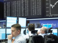 Die Umsätze an allen deutschen Börsen gingen 2008 um zwölf Prozent auf 2,5 Billionen Euro zurück (Foto: Deutsche Börse AG)