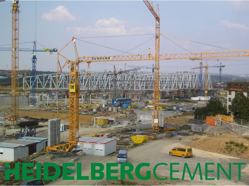 Baustoffhersteller unter Druck: Der Markt unterstellt HeidelbergCement Liquiditätsprobleme