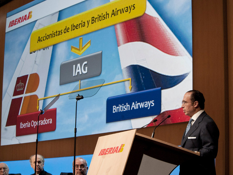 Antonio Vazquéz: COB des neuen Luftfahrtriesen IAG (Quelle: Iberia)