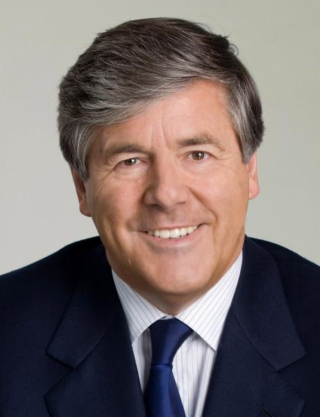 Wieder gesund: Deutsche-Bank-Chef Josef Ackermann