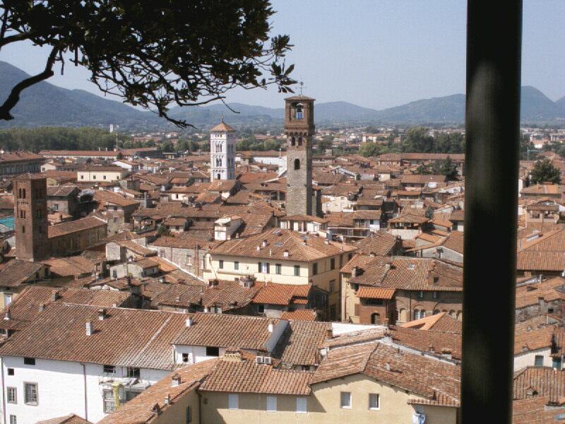 Das toskanische Städtchen Lucca gilt als einer der frühen Handelsplätze