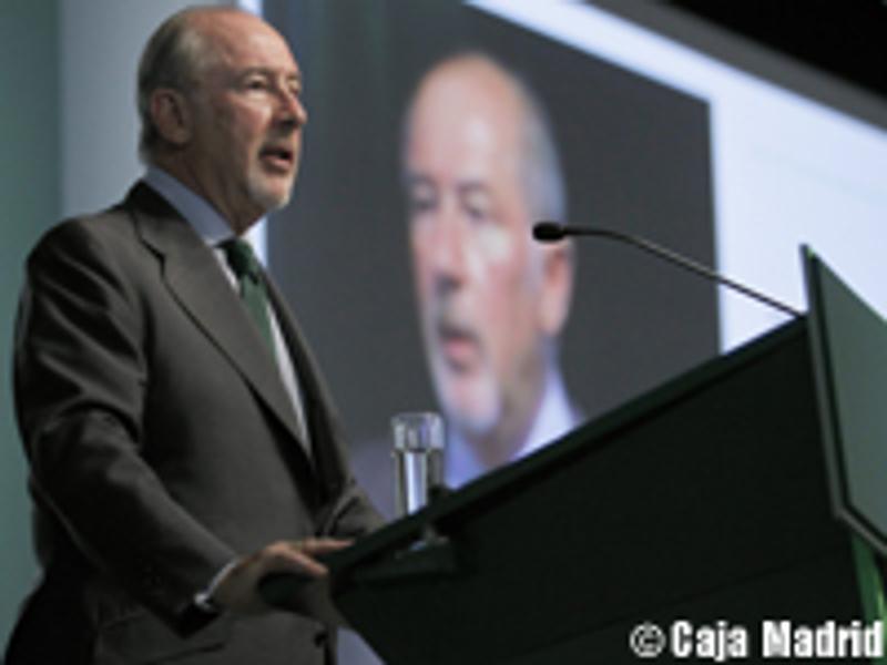 Rodrigo Rato kämpft für das Image spanischer Sparkassen (Foto: Caja Madrid)