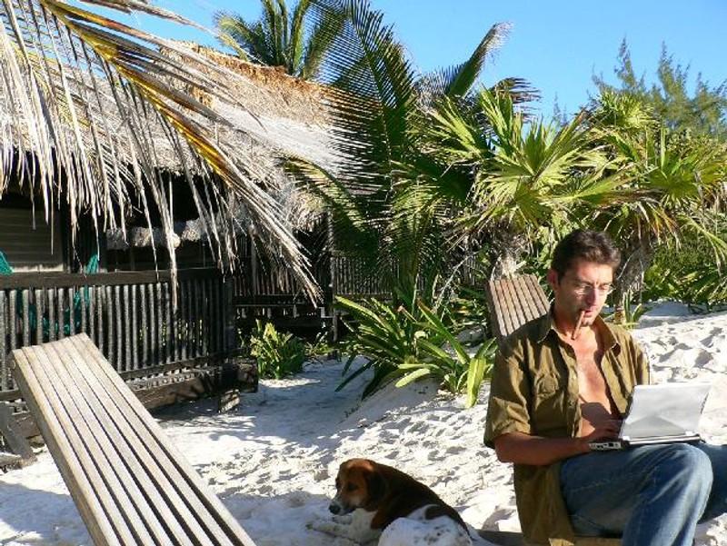 Manfred Ries ist an den Stränden der Welt zu Hause: 'Eine Kursschwankung im Tagesbereich darf mich nicht aus der Fassung bringen'