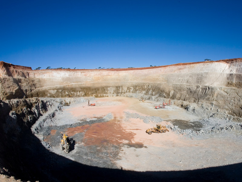 Hier wird Gold produziert: Paddington-Mine von Norton Gold Fields (Foto: Norton Gold Fields)