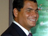 Rafael Correa, der linkspopulistische Präsident Ecuadors