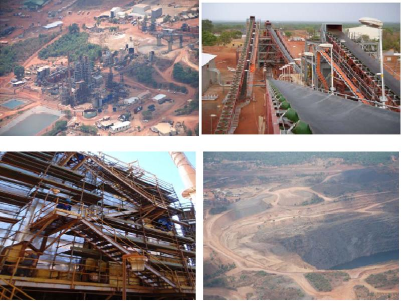 Syama Goldmine in Mali: Resolute Mining hat zwei Projekte in Afrika