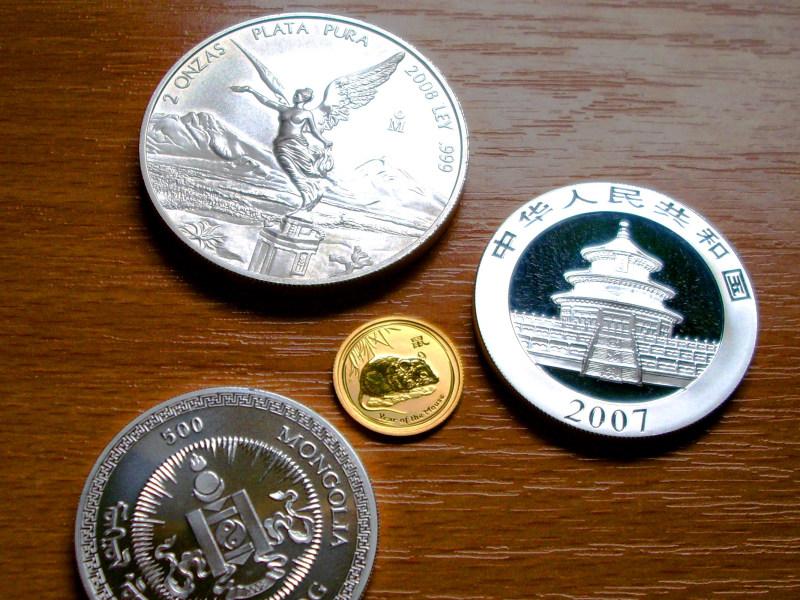 Gold- und Silbermünzen gelten als flexible Krisenabsicherung (Foto: morguefile)