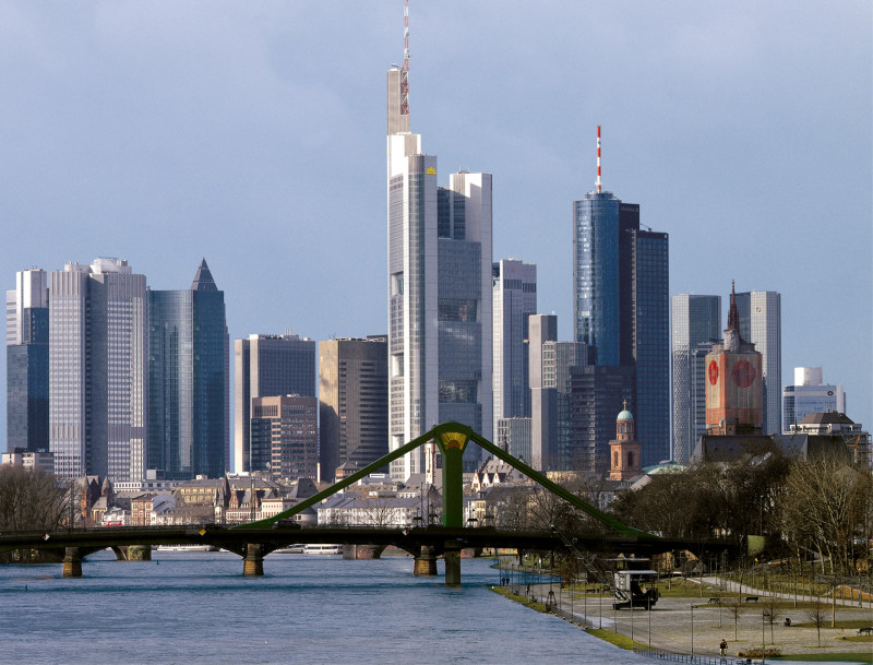 Die Commerzbank prägt das Bild der Weltfinanzzentren (Foto: Markus Goetzke, Commerzbank AG)